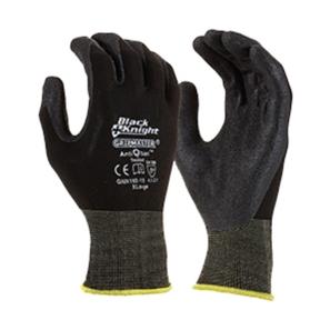 Gloves Black Knight Nylon Xl