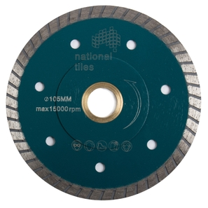 National Tiles Diamond Blade 105mm X 25.4mm