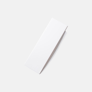 Pressed Edge White Gloss