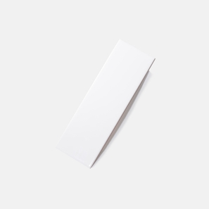 Pressed Edge White Matt