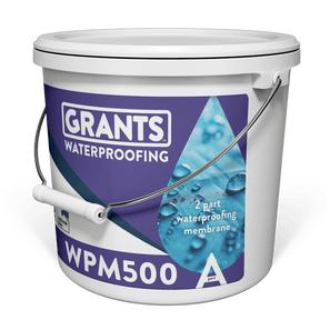 Grants Wpm500 Waterproofing Part A 10l Part B 15kg