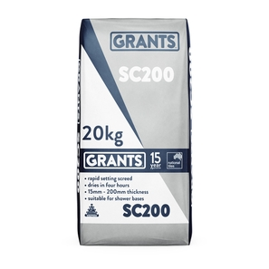 Grants Sc 200 Screed 20kg
