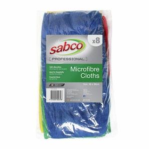 Sabco Microfibre Cloth 280gsm (8pk)