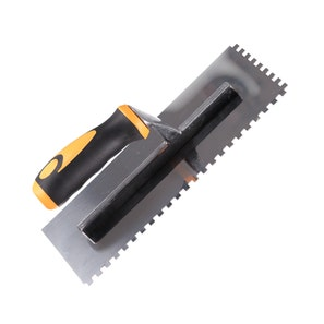 * Square Notched Multi Grip 6mm Stainless Steel Trowel
