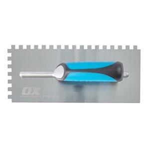 Ox Professional 8x8 Notch Trowel
