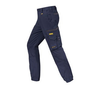 Trousers Gfield Cuff Navy 32
