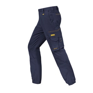 Trousers Gfield Cuff Navy 40