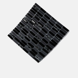 Ebony Mix Frosted Glass Mosaic