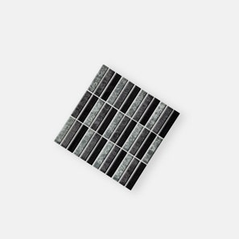 Fusion Black Mix Mosaics Tile