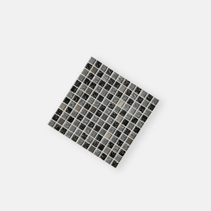 Alloy Glass Steel Mix Mosaic