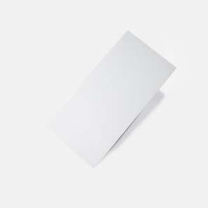 Pressed Edge White Gloss