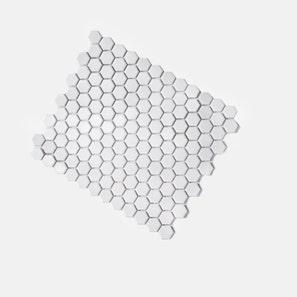 Honeycomb White Matt Mosaic Tile