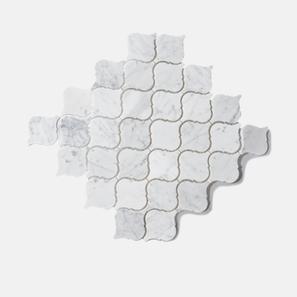 Carrara Marble Lantern Mosaic