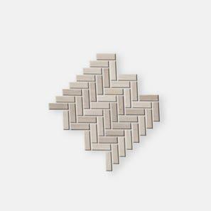 Teakwood Herringbone Mosaic Tile