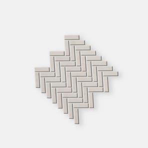 Pietra Lavica Birch Herringbone Mosaic Tile