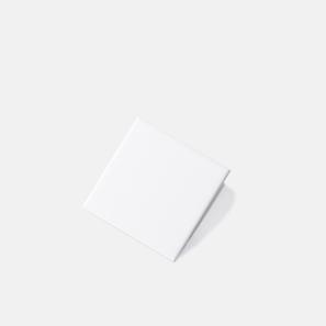 Pressed Edge White Gloss Tile