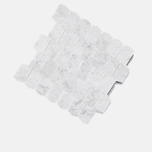 Carrara Shields Mosaic Tile