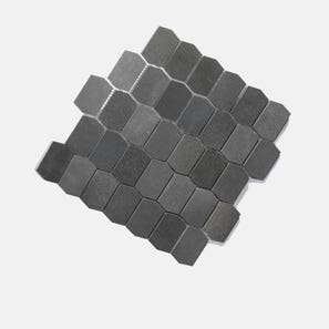 Basalt Shields Mosaic Tile