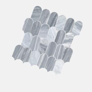Scala Bardiglio Cloud Honed Tile