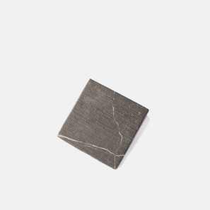 Terreno Carved Charcoal Tile