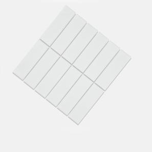 Helsinki White Matt Glazed 45x145 Mosaic