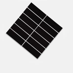 Helsinki Black Matt Glazed 45x145 Mosaic Tile
