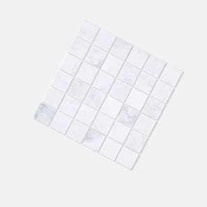 Square Castro White Honed Tile