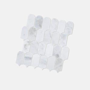 Scala Castro White Honed Tile