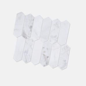 Picket Castro White Honed Tile