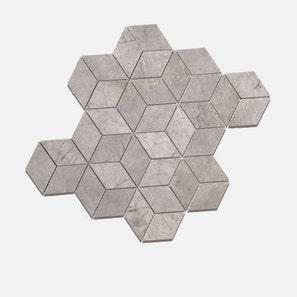 Cadini Grey Mixed Rhombus Mosaics Tile