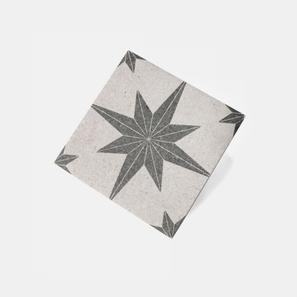 Bali Stone White Compass Matt Tile