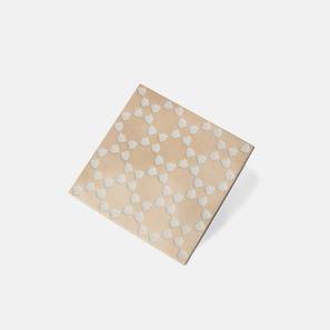 Marrakech Biscuit White Matt Tile