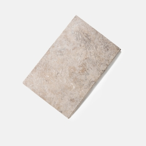 Travertine Oyster Grey Bullnose Paver 30mm