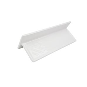 Square Shelf White 300x100mm