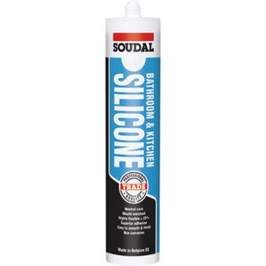 Bathroom And Kitchen Silicone Clear 300ml