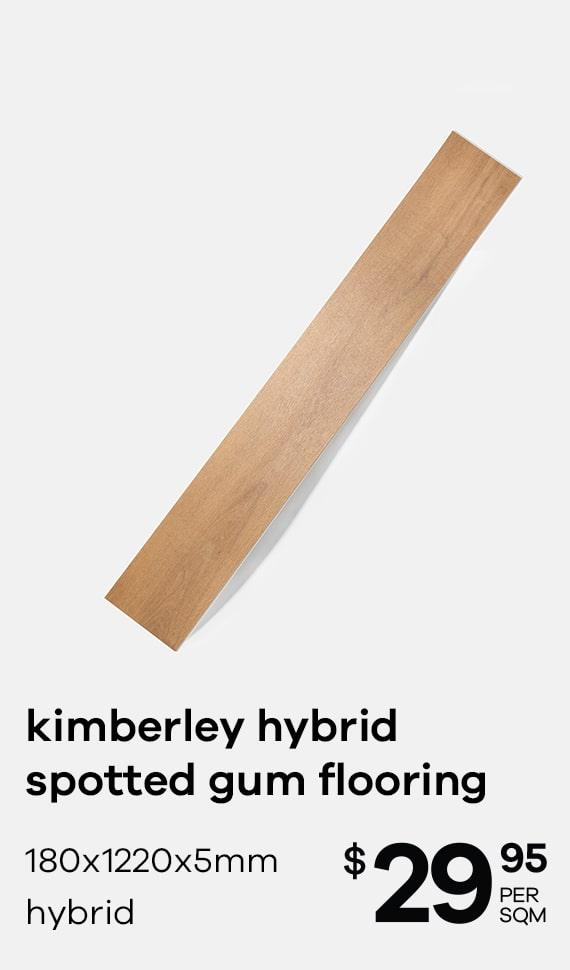 kimberley hybrid spotted gum flooring